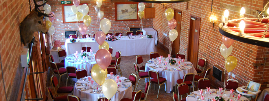 The barn is fantastic for your suffolk wedding