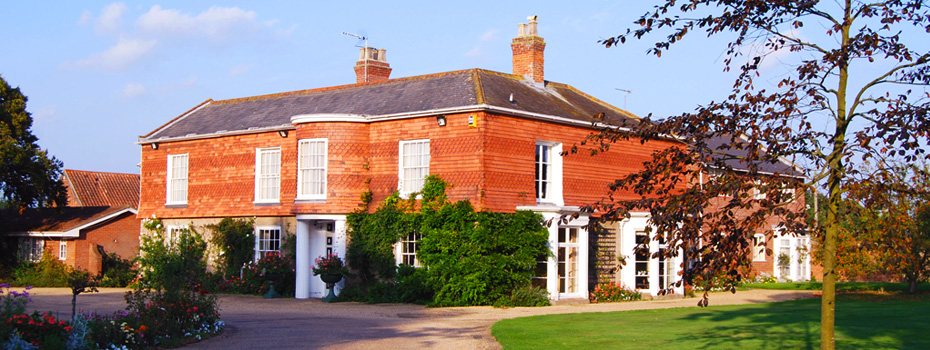 The Parkhill Hotel, a beautiful country house in Suffolk
